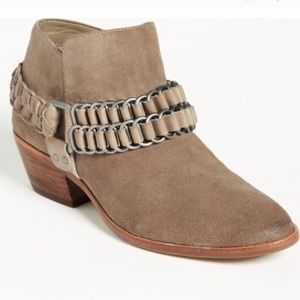 Sam Edelman Posey Suede Ankle Boots